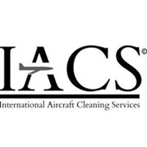 international aircraft cleaning logo