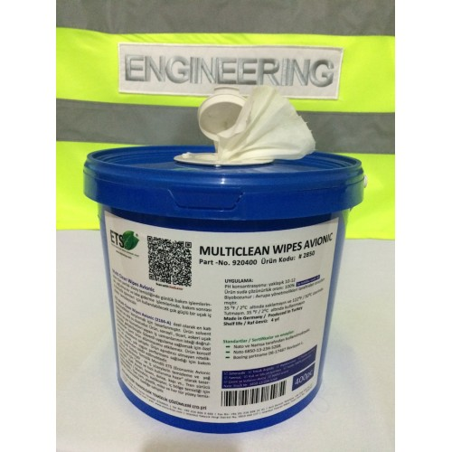 Aircraft Cleaner Tissue Wipes Aircraft Cleaners