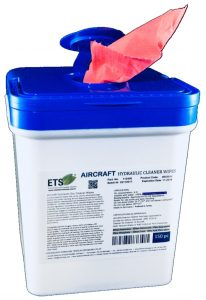 Aircraft Hydoliik Cleaner Wipes