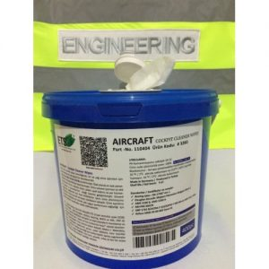 aircraft cockpit cleaner tissue wipes