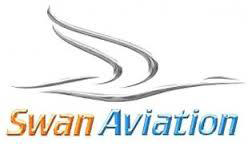 swan aviation logo